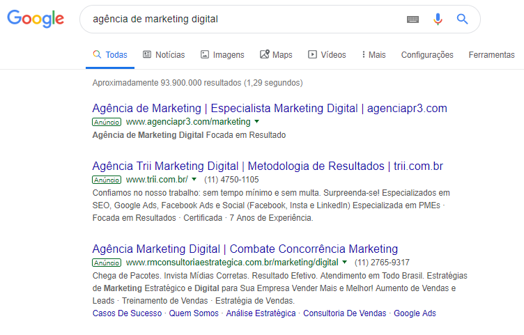 Por que anunciar empresa no Google? 2
