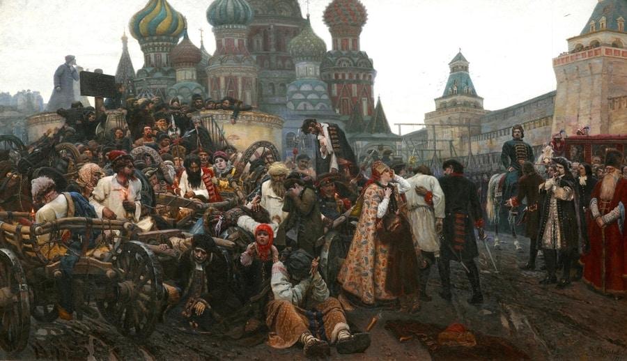 Russian Art, School trip to Russia