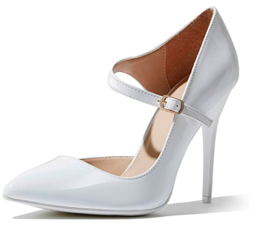 DailyShoes Mary Janes Heels