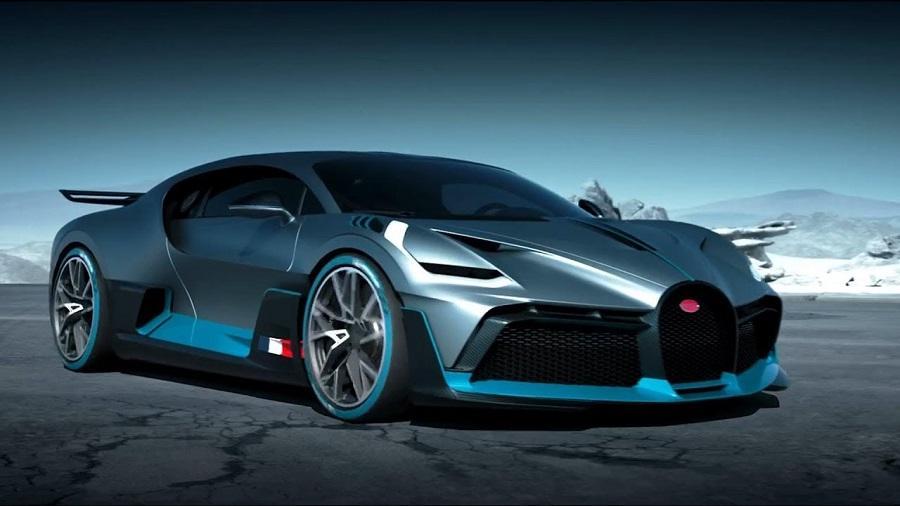 Bugatti Divo szemből
