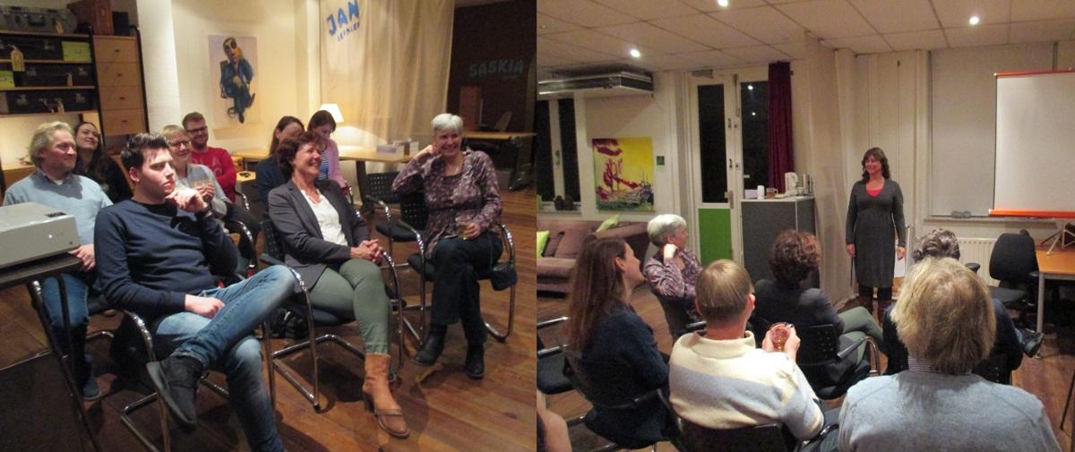 Lezingen over schrijven bij Zinexprez in Hilversum