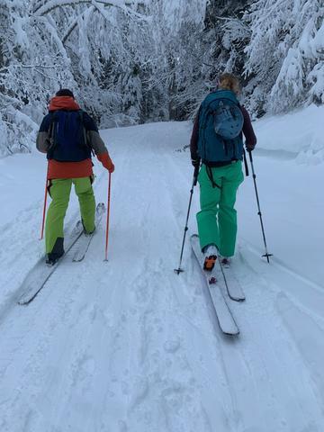 randonnée famille avec guide activité hiver