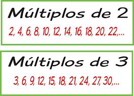 Resultado de imagen de multiplo de 3