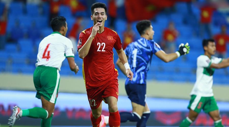 Trọng tài đã sai khi công nhận bàn thắng của Tiến Linh?