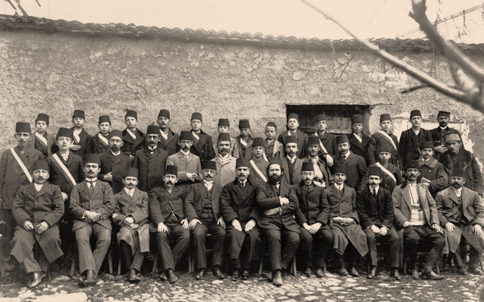C:\Users\Engjell\Desktop\K.ARSIMOR.ENGJELLI\Kongresin e dyte te Manastirit 1910, P.N.Luarasi.jpg