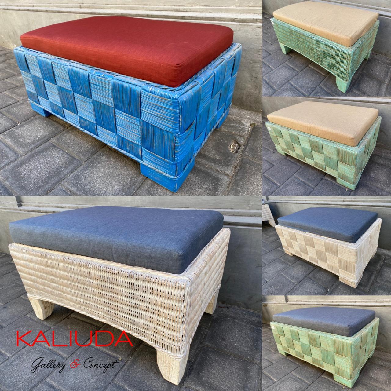 Rattan furniture by Kaliuda Gallery