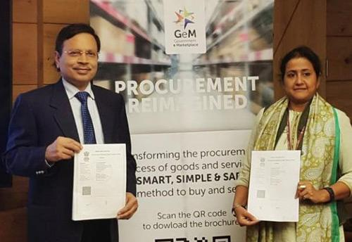 Image result for GeM and CCI Sign MoU