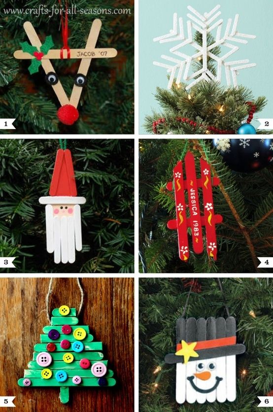 popcicle stick ornaments