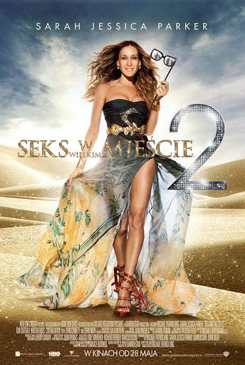 Przód ulotki filmu 'Seks W Wielkim Mieście 2'