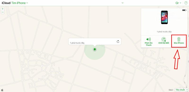 Sforum - Trang thông tin công nghệ mới nhất Capture-32 Hướng dẫn cách xóa dữ liệu từ xa trên iPhone, iPad khi bị mất cắp