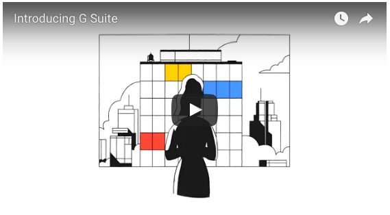 G Suite intro video screenshot