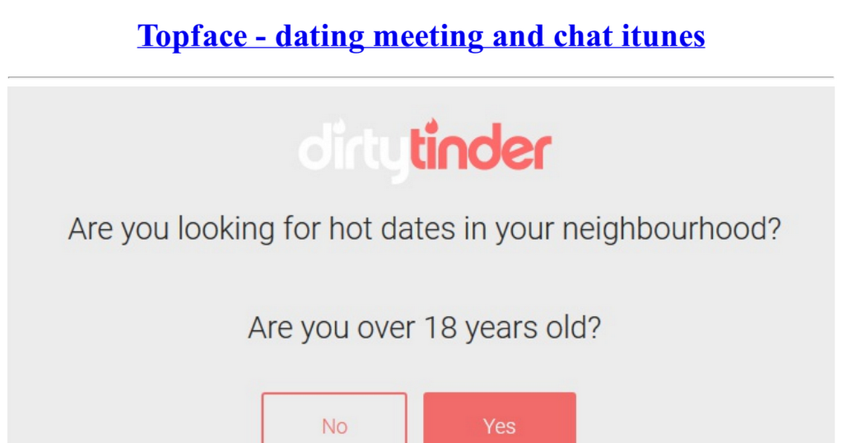 topface dating and chats