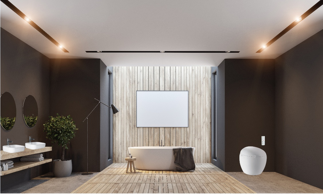 Thiết kế phòng tắm theo phong cách tối giản