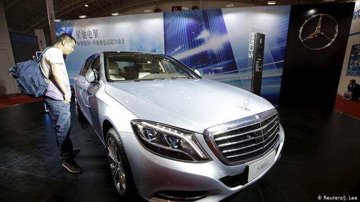 Гібридний Mercedes-Benz S500 eL на автосалоні в Пекіні