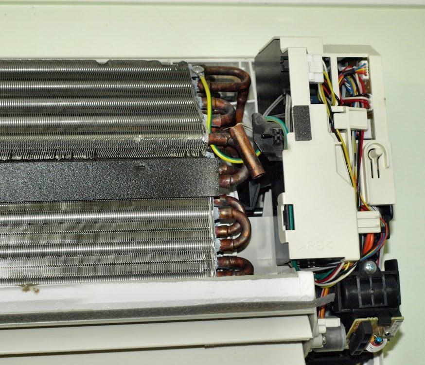 máy lạnh bị rò gas, máy lạnh bị thiếu gas
