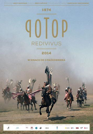 Polski plakat filmu 'Potop Redivivus'