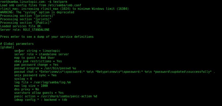 how to configure samba | step by step samba configuration in Ubuntu