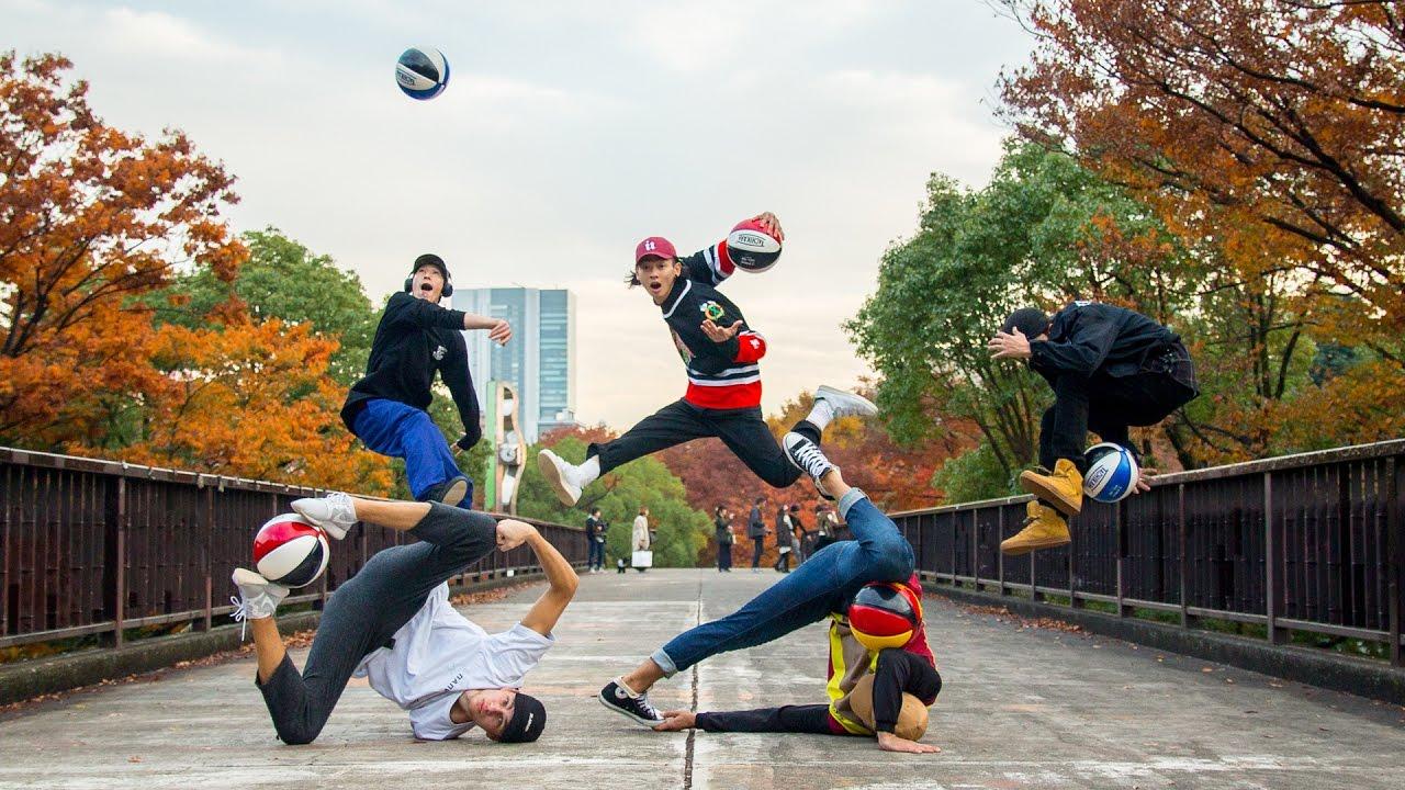 タチカラ最新フリースタイル・バスケットボールビデオ WELCOME TO ...