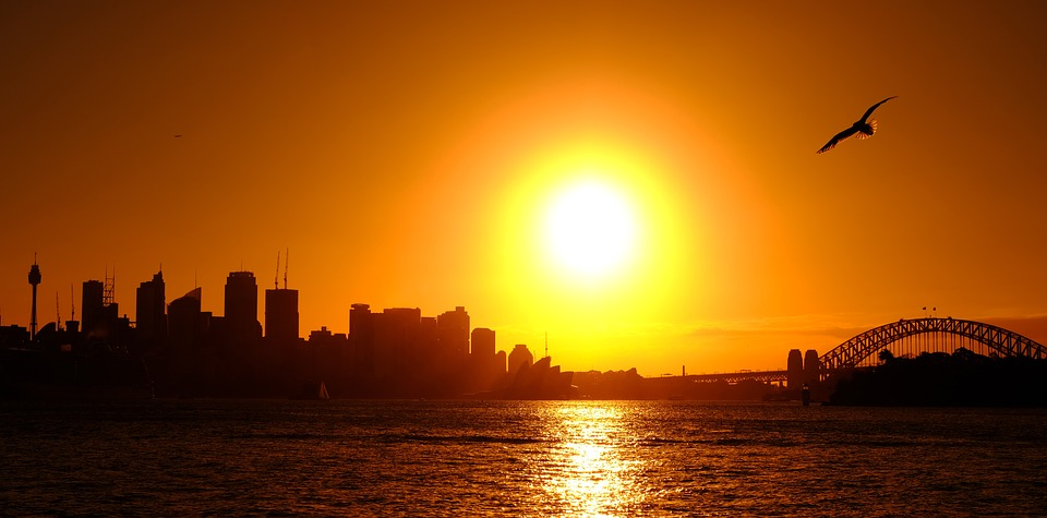 Sydney, Abendstimmung, Sunset, Mood, Sunrise