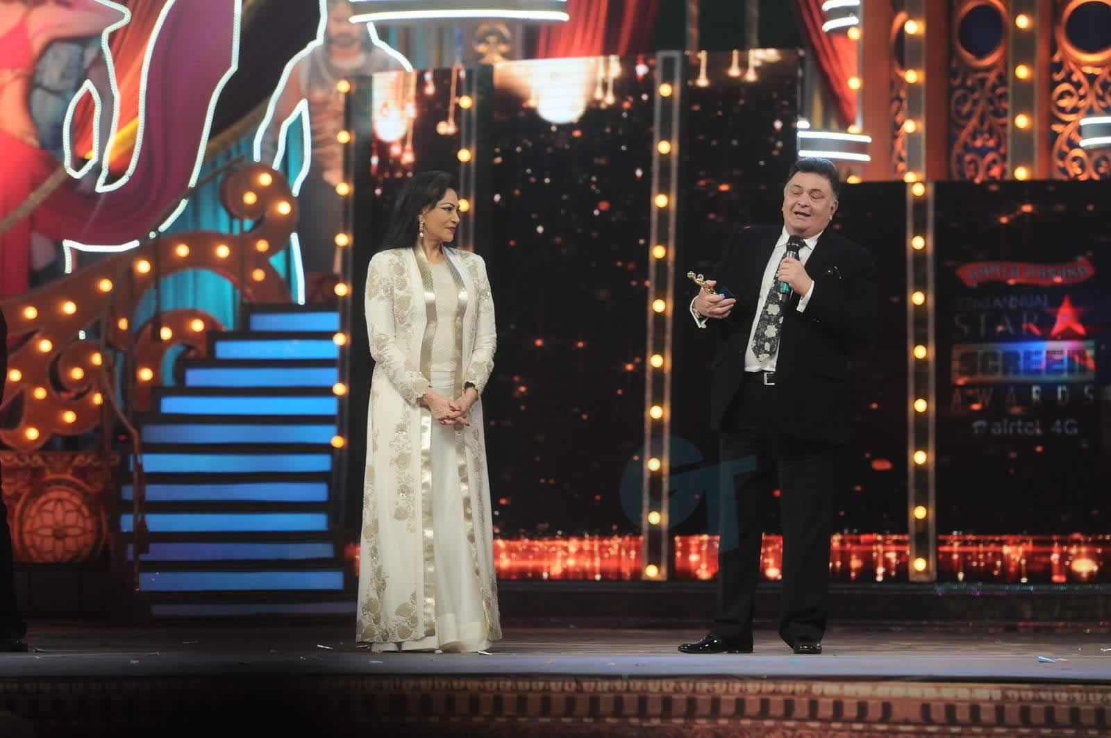Lifetime Achievement Award- Rishi Kapoor