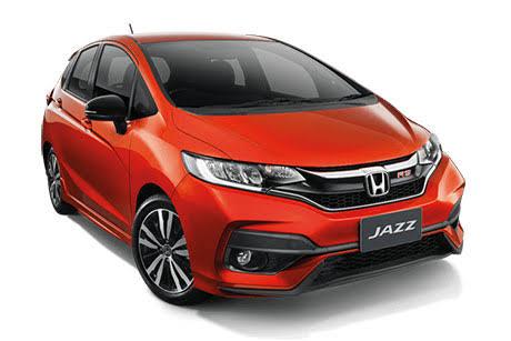 ไซน์ภายนอกรถยนต์ : Honda Jazz GK RS+