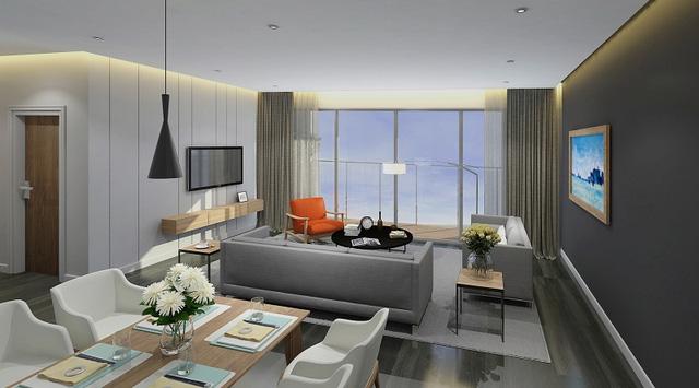 Những căn hộ EcoLife Capitol có thiết kế hiện đại, thông minh.