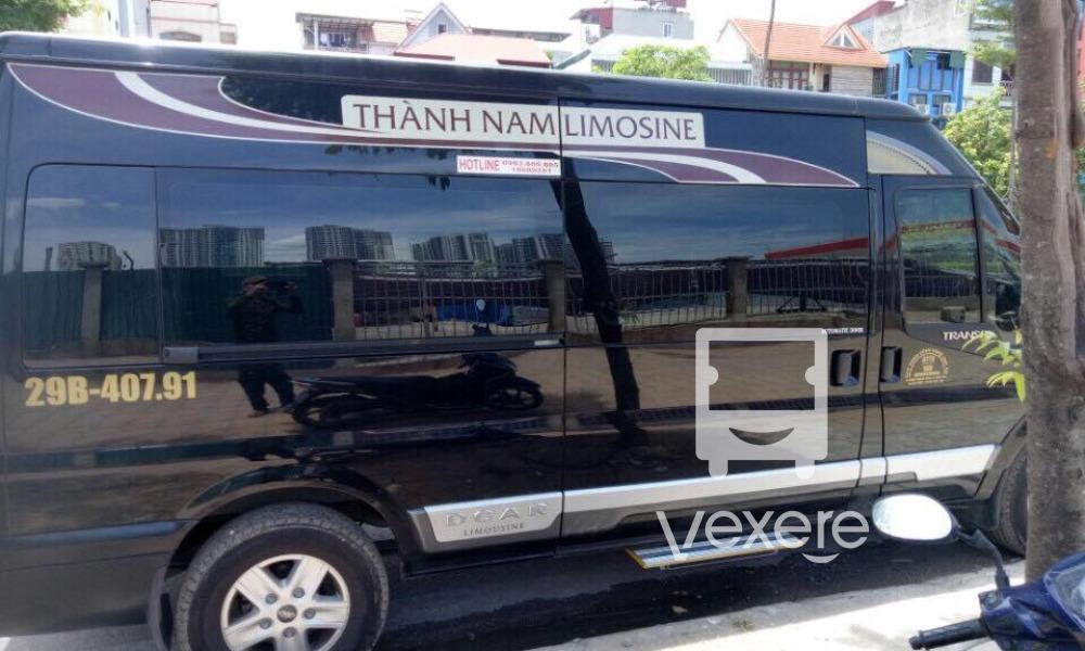 Xe Thành Nam Limousine – Giá vé, số điện thoại, lịch trình | VeXeRe.com
