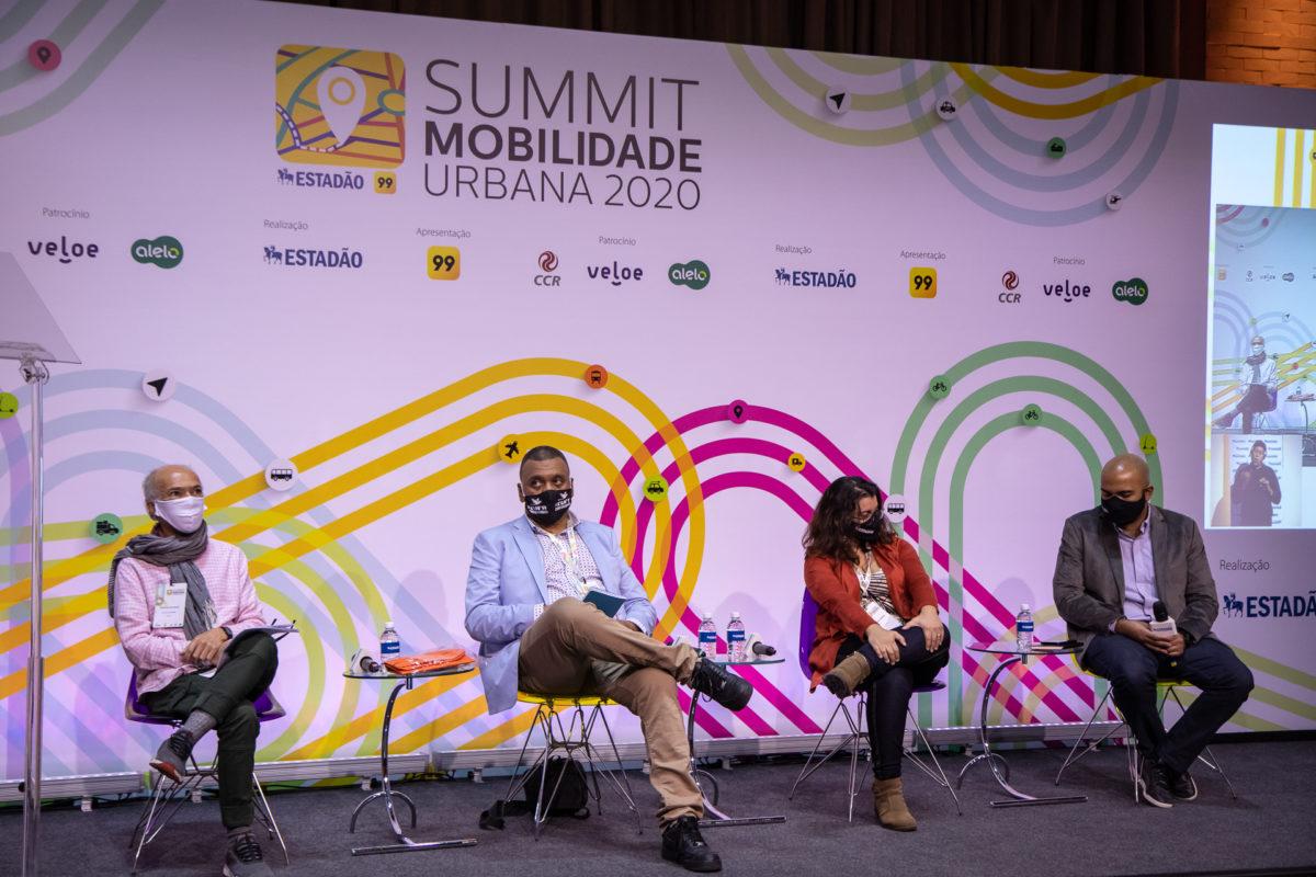 As desigualdades socioespeciais foi o tema de encerramento da última edição do congresso de mobilidade urbana. (Fonte: Summit Mobilidade/Reprodução)