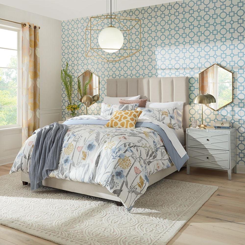 Tiles Accent Bedroom Wall Decor Ideas