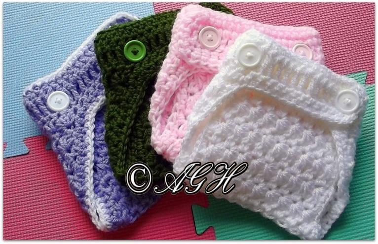 Ag Handmades Star Stitch Diaper Cover
