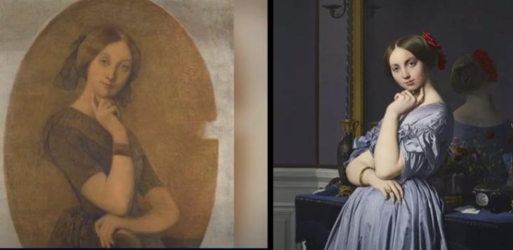 Une image contenant personne, intérieur, femme, ours  Description générée automatiquement
