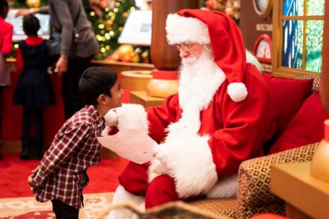 Get The Santa Look