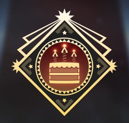 Apex anniversary  badge