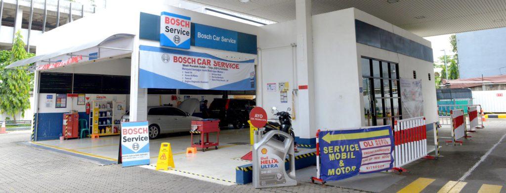 bengkel mobil Bosch Car Auto Service view