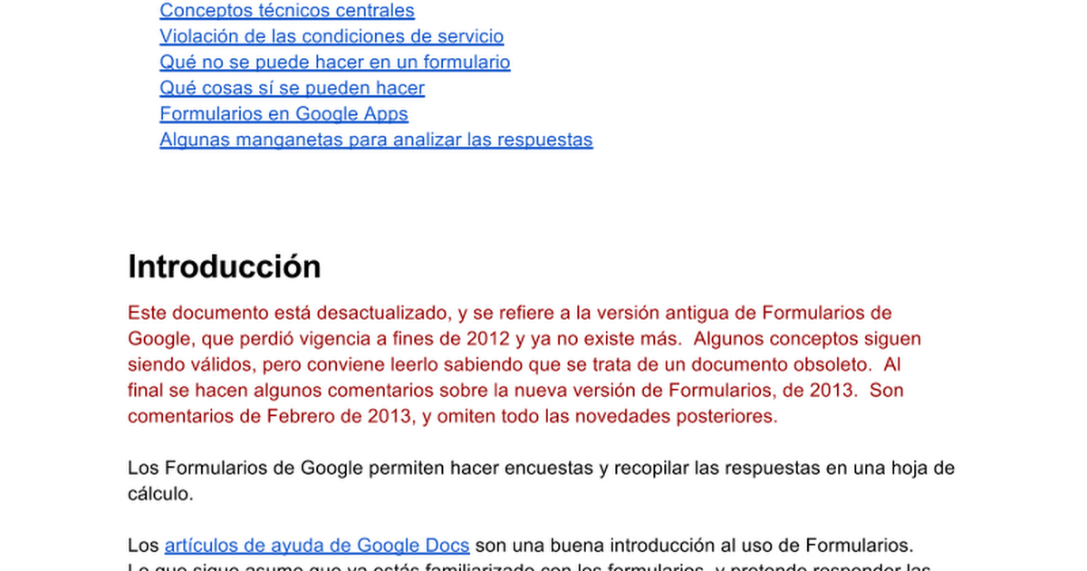 Todas las respuestas sobre Formularios - Google Docs