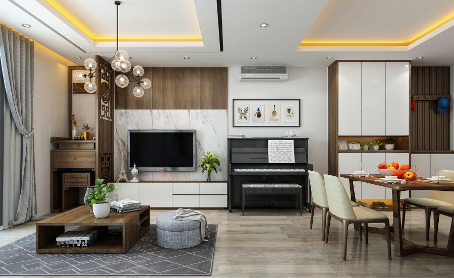 Kết quả hình ảnh cho thiết kế nội thất chung cư