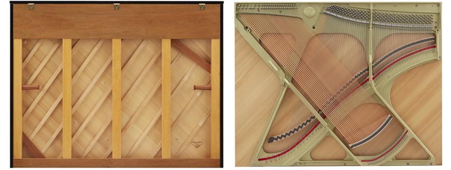 Piano Kawai Soundboard