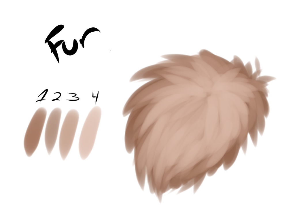 Free Fur Brush For Clip Studio Paint/Man #1554964 - PNG Images - PNGio