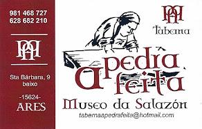 Taberna A Pedra Feita, colaborador coa A.D.R. Numancia de Ares.