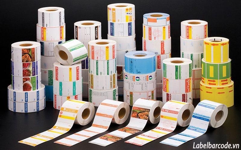 Chuyên in và bán tem cân điện tử với mẫu mã và kích thước theo nhu cầu khách hàng