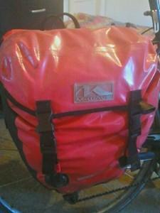 Fully loaded clothes pannier