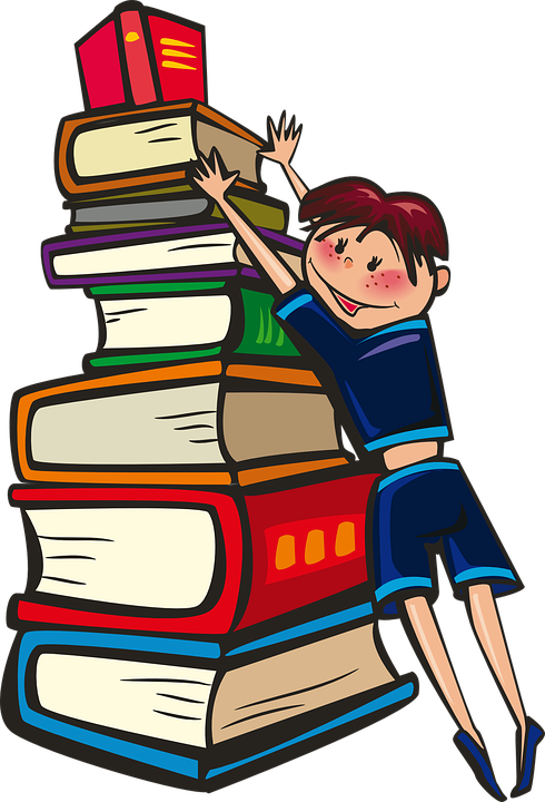 Free vector graphic: Girl, Books, School, Reading - Free Image on ...