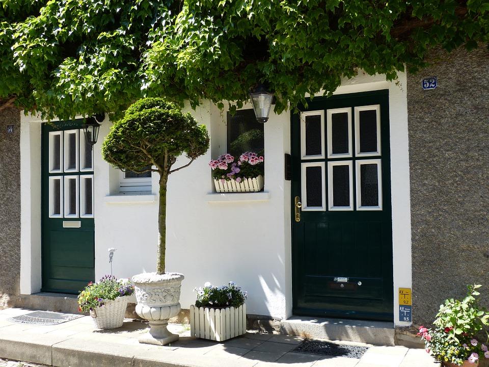 Door, Input, Front Door, House Entrance, Wood, Eat