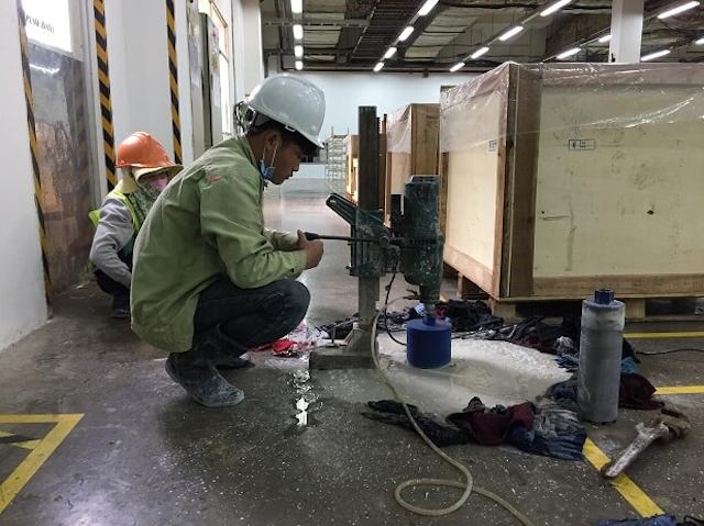 Dịch vụ khoan cắt bê tông tại hồ chí minh phát triển mạnh mẽ
