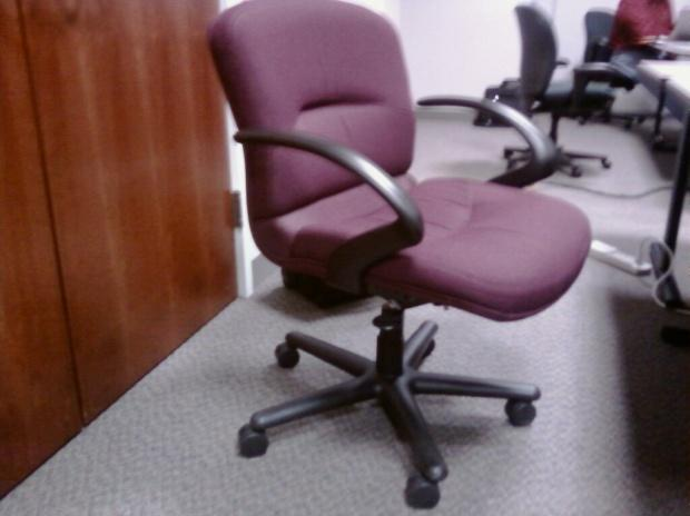 Allsteel Tolleson executive chair | This chair is very easy … | Flickr