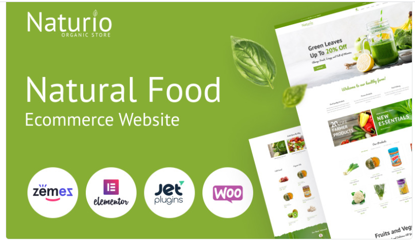 Grocery woocommerce themes