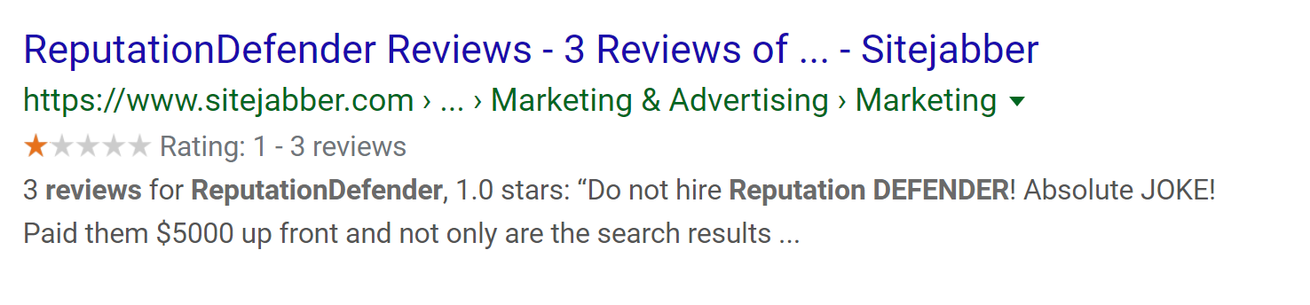 Sitejabber.com - 1 Star Reviews on Google