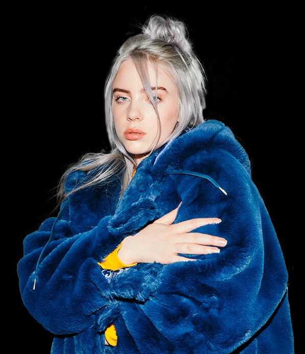 Billie Eilish Fur Coat