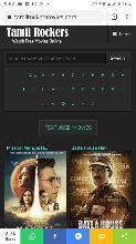 Tamilrockers - Download Latest Tamil, Telugu, Malayalam, Hindi Dubbed Movies, Hollywood movies, bhojpuri movies