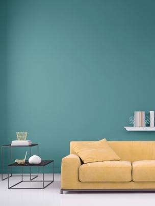 Ваша гостиная может преобразиться даже со старой мебелью, если вы перекрасите стены